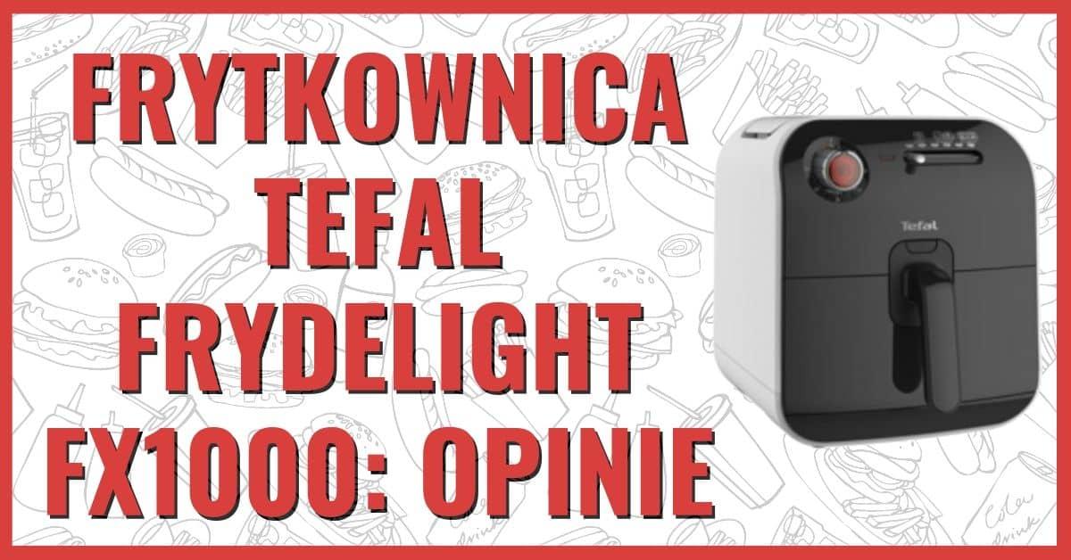 Frytkownica Beztłuszczowa Tefal Frydelight FX1000